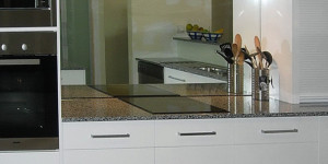 glass splashback Aspley