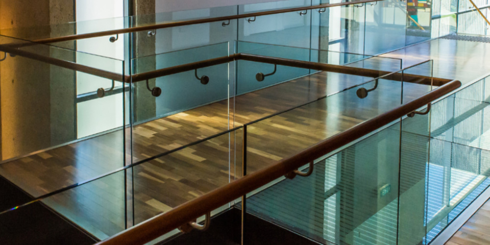 glass floor and balustrades Hamilton